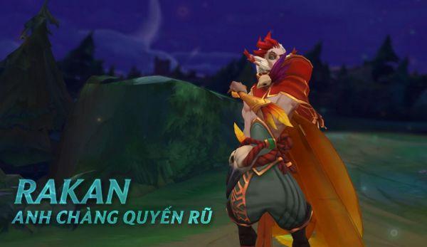 Guide Rakan mùa 9: Cách chơi, bảng ngọc tướng Rakan hay nhất