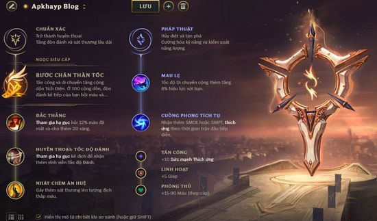 Bảng bổ trợ Twisted Fate