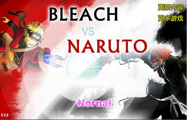 Game Bleach vs Naruto 2.9: Trò Bleach vs Naruto 2.9