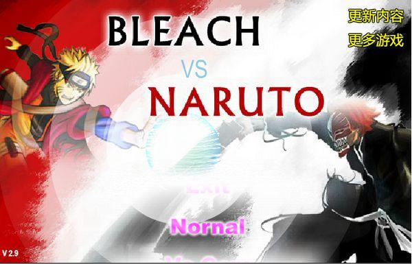 Game Bleach vs Naruto 2.9: Trò Bleach vs Naruto 2.9