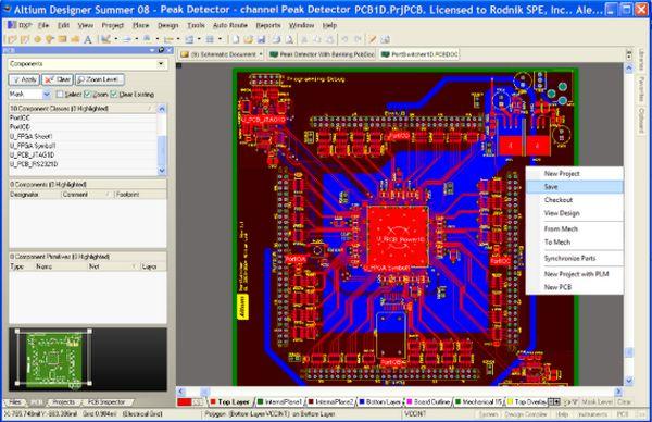 Phím tắt Altium: Những phím tắt thông dụng trong Altium Designer