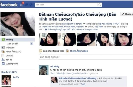 Tên facebook tiếng Anh
