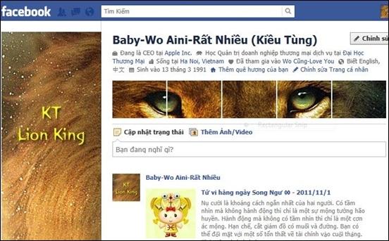 Tên Facebook tiếng anh cho các bạn nam
