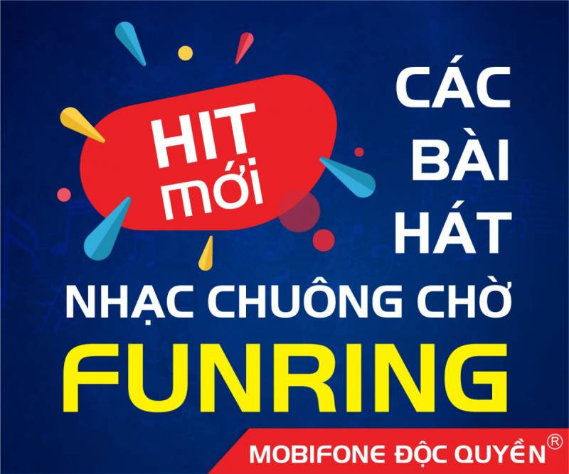 Bài hát độc quyền Top 9 MMC 2016 nay đã có mặt tại nhạc chuông chờ Funring Mobifone