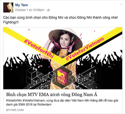 tam ho ha keu goi binh chon cho dong nhi o mtv ema 2016