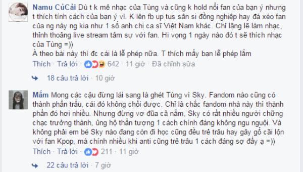 """Lơ đẹp"""" Sơn Tùng Noo Phước Thịnh gây chiến với Sky"""