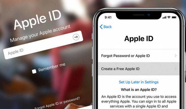 Đăng kí tạo tài khoản ID Apple trên máy tính cực nhanh