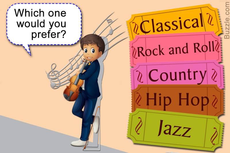 Tìm hiểu sơ lược về một số dòng nhạc phổ biến