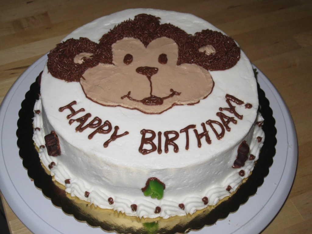 Bánh Sinh Nhật Hình Con Khỉ Đẹp Nhất