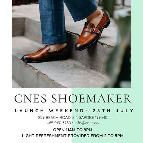 Giày nam cnes shoemaker