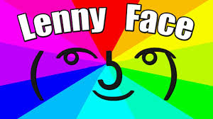 Mặt Lenny Face ( ͡° ͜ʖ ͡°)