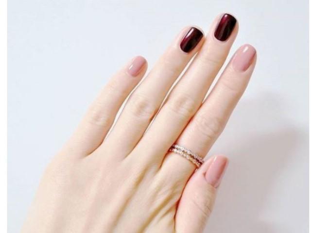 Mẫu nail đơn giản sang trọng