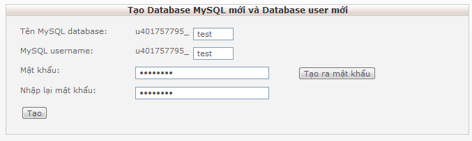 tao user mysql huong dan upload website len hosting mien phi
