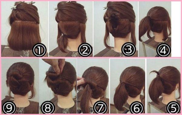 Cách búi tóc cho cô nàng tóc bob