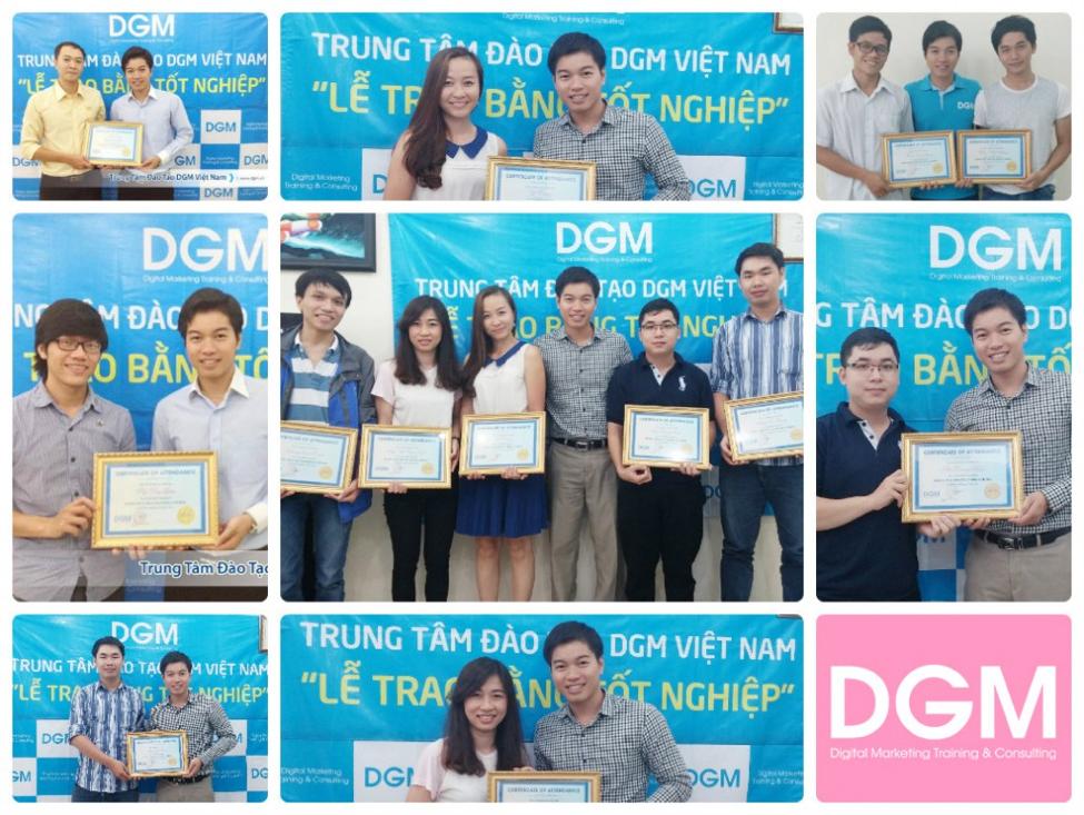 Những học viên tại trung tâm đào tạo SEO DGM