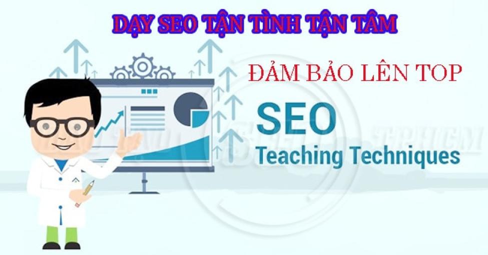 Top 10 trung tâm đào tạo SEO tốt nhất Hồ Chí Minh