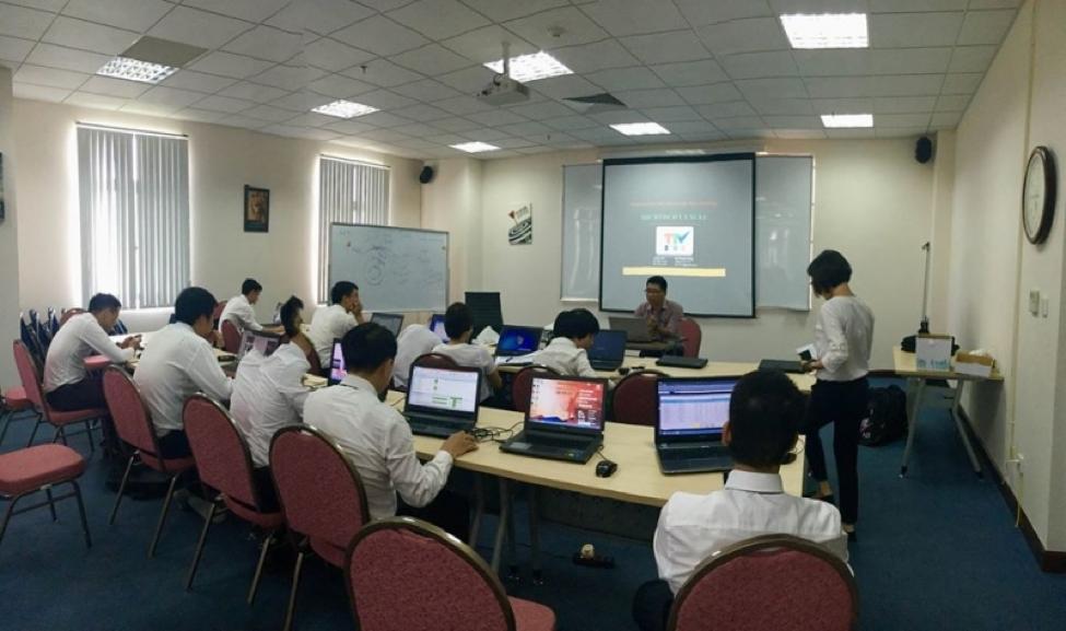 Trung tâm đào tạo SEO Trí Tuệ Việt tổ chức lớp học