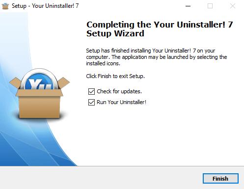 Cài đặt Your Uninstaller Pro Bước 3