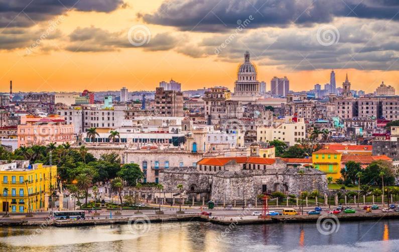 Havana, Cuba vào thu