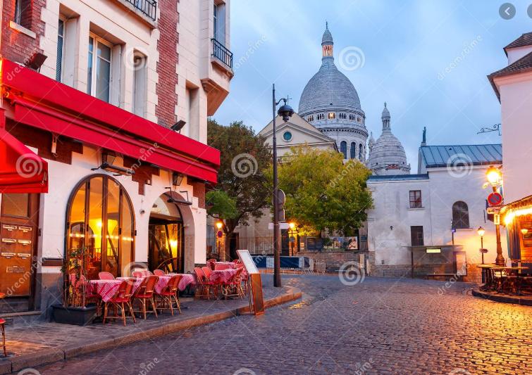 """Montmartre được biết đến như là """"Núi các Tử Thần"""""""