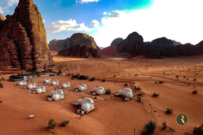 """Sa mạc Wadi Rum chơi sao Hỏa trong """"Người sao Hỏa""""."""