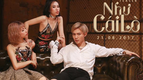Sambi và Mr.A trong MV Như Cái Lò.