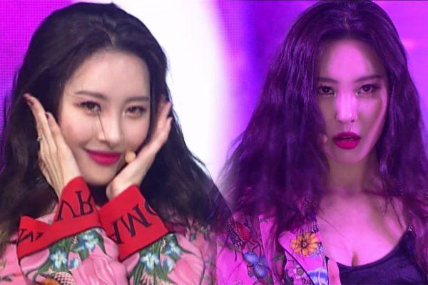 "Sunmi biểu diễn ""Gashina"" trên Inkigayo 3/9"