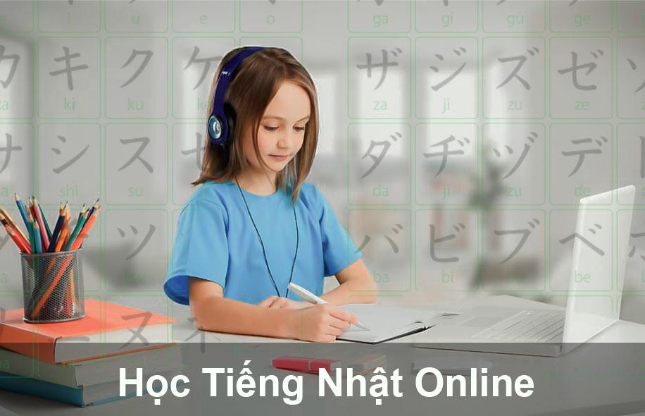 Tự học tiếng nhật online dành cho người mới bắt đầu và giao tiếp cơ bản