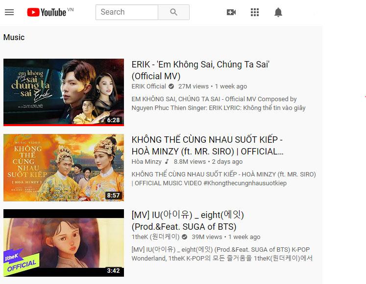 Em không sai, chúng ta sai review Top 1  trending  trên Youtube VN liên tiếp 1 tuần