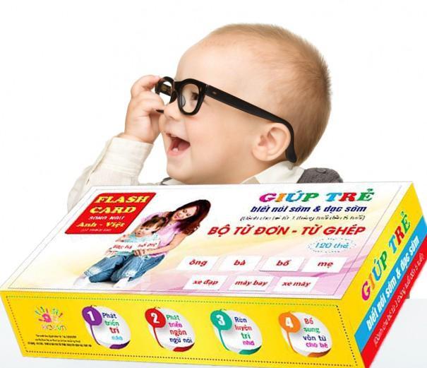 Học tiếng Anh cho bé qua flashcard