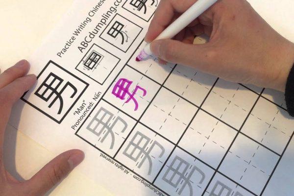 Nắm chắc quy tắc viết chữ Hán - Cách Viết Tiếng Trung Đẹp Và Đúng Chuẩn
