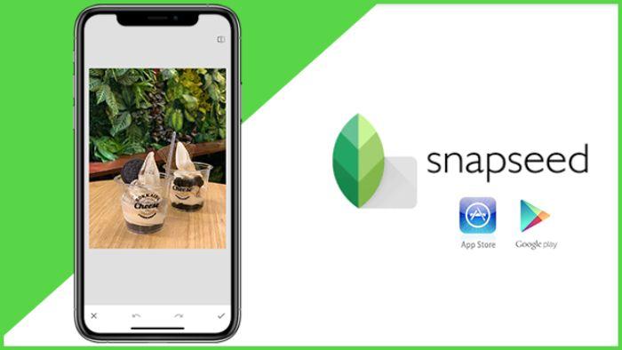 Ngoài công dụng làm rõ ảnh đã bị nhòe thì Snapseed còn giúp người dùng thêm nhiều tính năng khác