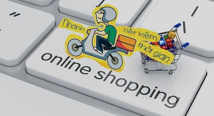 Thay vì mua hàng trực tiếp thì xu hướng mua - bán hàng online đang ngày càng hot
