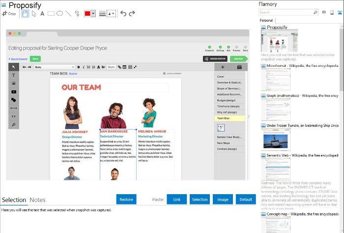 Proposify cũng là 1 trong 6 công cụ Marketing Online mạnh mẽ mà bạn không nên bỏ qua