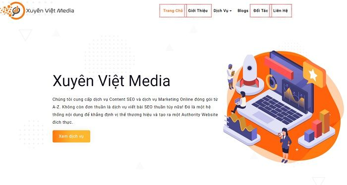 Xuyên Việt Media là 1 trong 6 công ty Digital Marketing uy tín ở Việt Nam