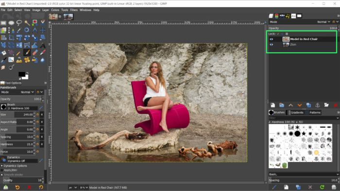 GIMP có hỗ trợ hàng loạt các tính năng để chỉnh sửa hình ảnh tốt nhất