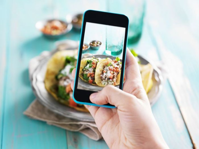Foodie là ứng dụng rất thích hợp cho những tấm hình check - in tại nhà hàng, khách sạn và đồ ăn