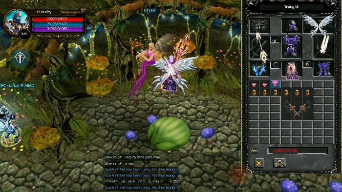 Giới thiệu về cánh 1 trong game MU online