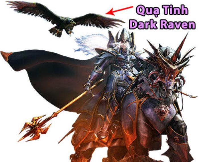 Quạ tinh tên tiếng anh là Dark Raven, đây là thú cưng của Chúa Tể (Dark Lord)