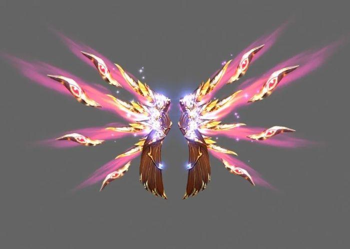 Wing 4 được xem là đôi cánh mạnh và đẹp nhất trong game MU online