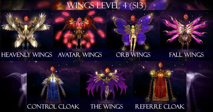 Người chơi cần có đủ nguyên liệu để thực hiện ép Wing 4 MU chính xác nhất