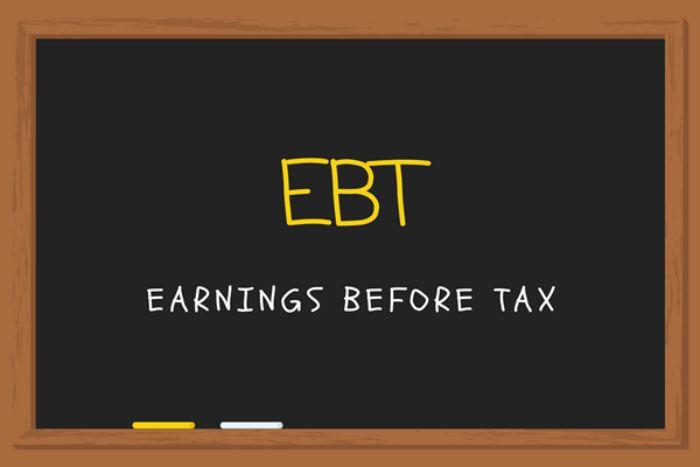 Earnings Before Tax - Lợi nhuận trước thuế