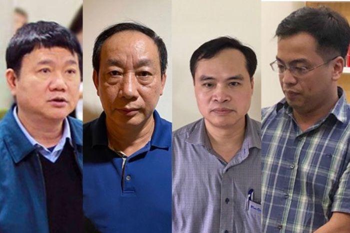 Đây đều là 4 nhân vật cấp cao trong cơ quan nhà nước