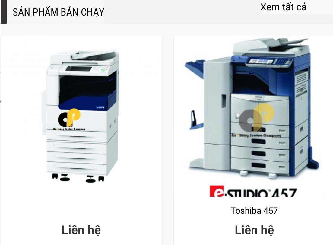 dịch vụ cho thuê máy in, máy photocopy Ninh Phước, Ninh Hòa, Khánh Hòa