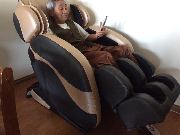 Ghế Massage giúp thư giãn rất tốt