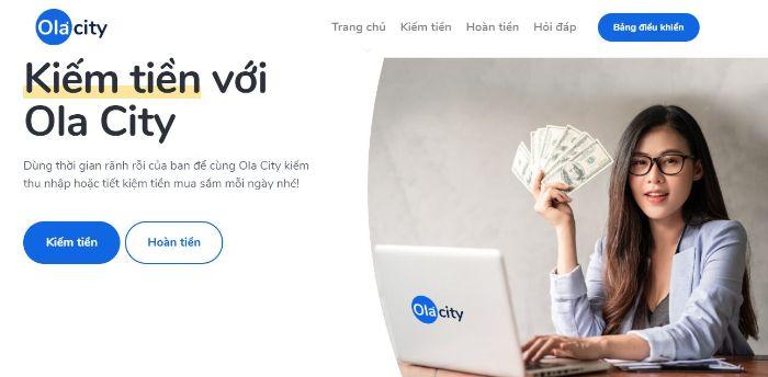Olacity là nền tảng kiếm tiền online miễn phí