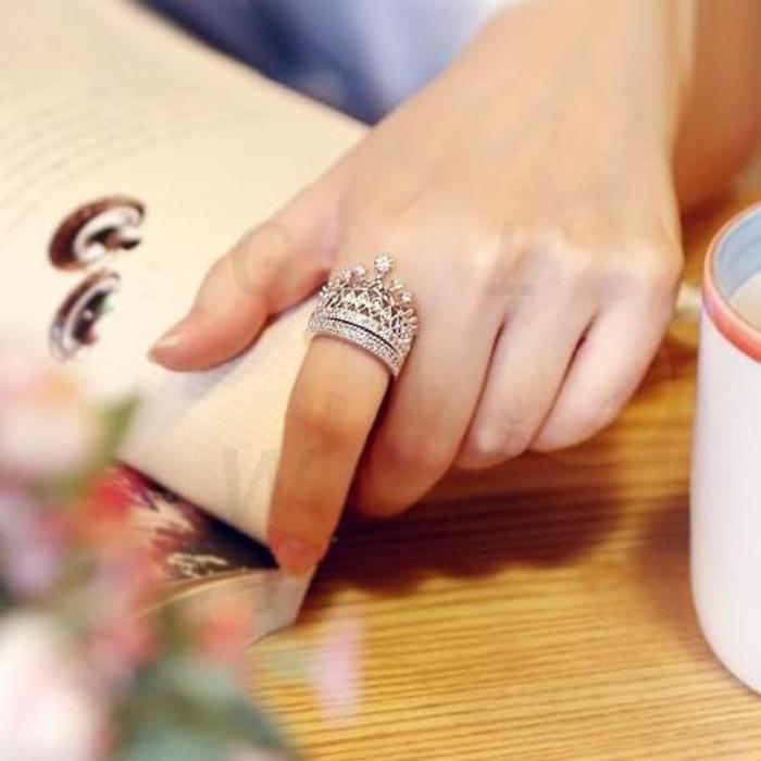 nên đeo nhẫn phong thuỷ ngón nào
